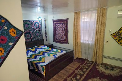 Jahongir Guest House, Samarkand, UZ (45 eu/room)