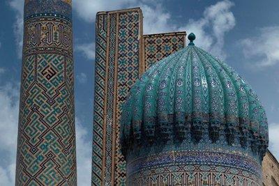 Registan, Samarkand, UZ