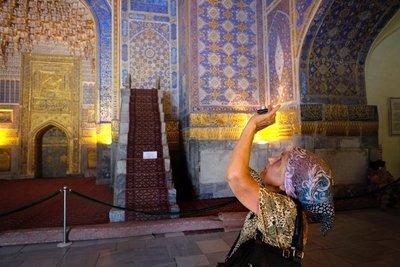 Tila Kari madrasa, Samarkand, UZ