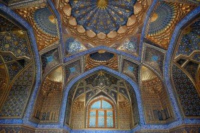 Ak Saray mausoleum, Samarkand, UZ