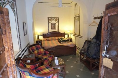 Our room, Mandawa Haveli, Rajasthan