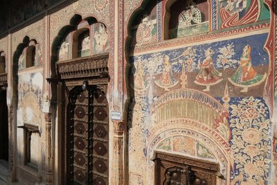 Hotel, Mandawa Haveli, Rajasthan
