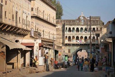 Main street of Mandawa, Shekawati, Rajasthan