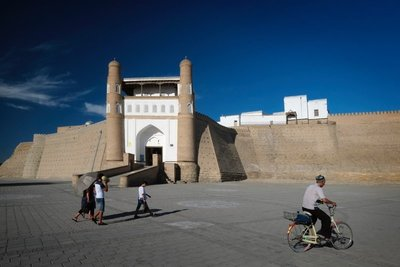 Exterior of the Ark (citadel and royal palace), Bukhara, UZ