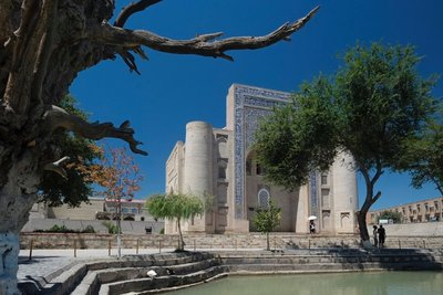 Nodir Devon Begi mausoluem, Bukhara, UZ