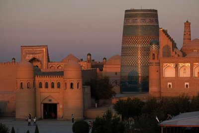 West Gate, Khiva, UZ