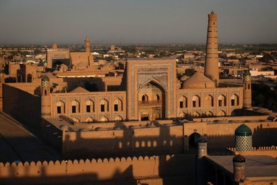 Madrassa Muhammad Rahimkhan, Khiva, UZ