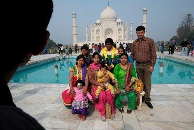 Taj Mahal, Agra, Uttar Pradesh