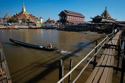 Paung Daw Oo Pagoda, Lake Inle