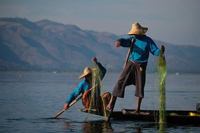 Fishermen, Lake Inle