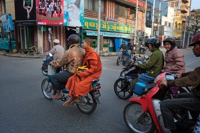 On the streets of Mandalay