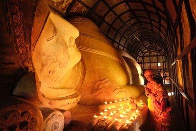 Ananda Okkyaung Reclining Buddha, Bagan