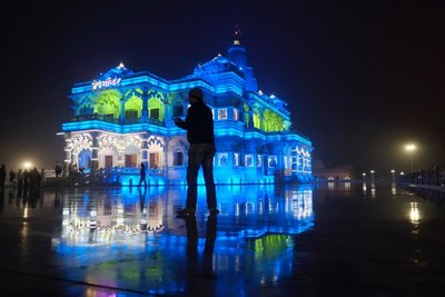 Prem Mandir Temple, Vrindavan, Uttar Pradesh