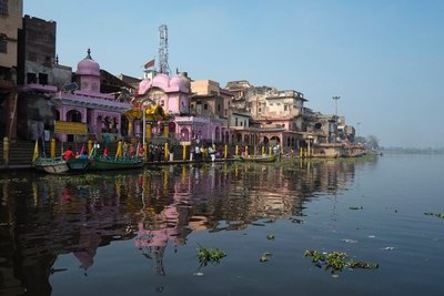 Vishram Temple and Ghat, Mathura, Uttar Pradesh