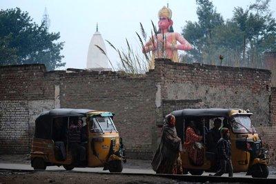 Hanuman (monkey god) Firozabad, Uttar Pradesh