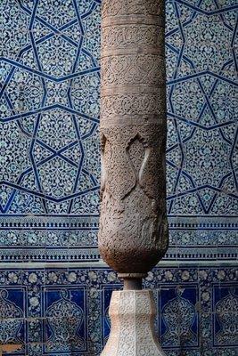 Interior, Khona Ark, Khiva, UZ