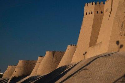 Ramparts, Khiva, UZ