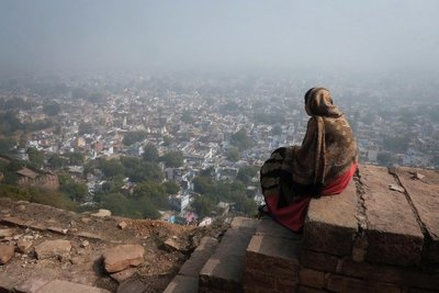 View from Gwalior Fort, Madhya Pradesh