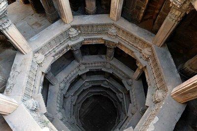 Dada-Hari-Vav step-well, Ahmedabad, Gujarat