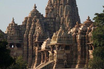Jagadamba and Kandariya Mahadev temples, Khajuraho, Madhya Pradesh
