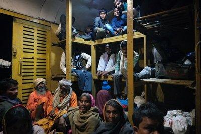 Train to Orchha, Madyha Pradesh
