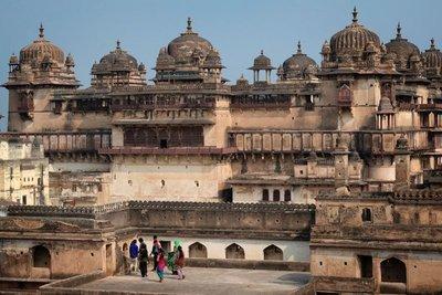Jahangir Mahal (citadel), Orchha, Madyha Pradesh