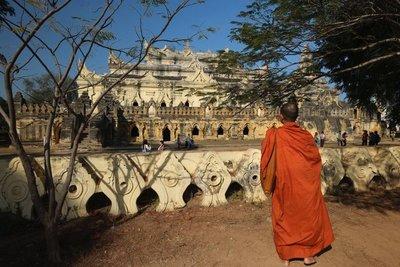 Mahar Aung Mye Bon San Monastery, Inwa