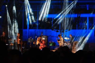 Athens, Jazz festival at Technopolis