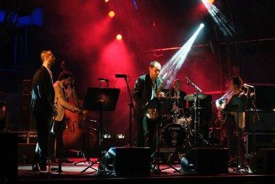 Athens, Jazz festival at Technopolis