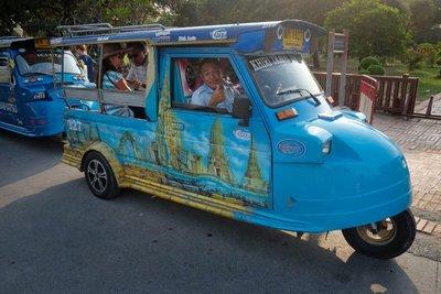 Tuk tuk, Ayutthaya, Thailand
