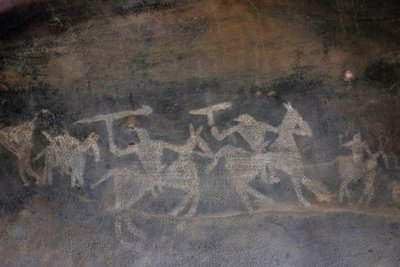 Cave paintings, Bhimbetka Rock Shelters