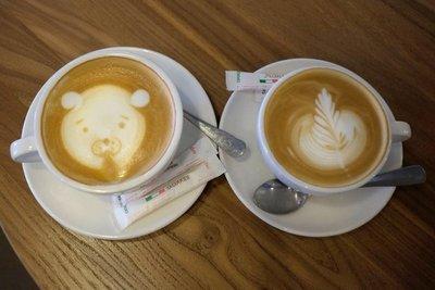 Cappuccino art, Bishkek
