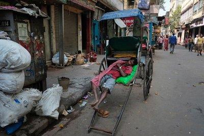 Rickshaw, Calcutta