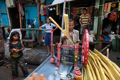 Sugarcane juice, Calcutta