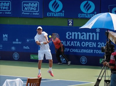 Men's final Kolkata Challenger