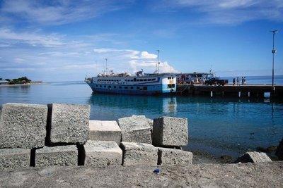 Ferry from Ampana to Wakai, Togian islands