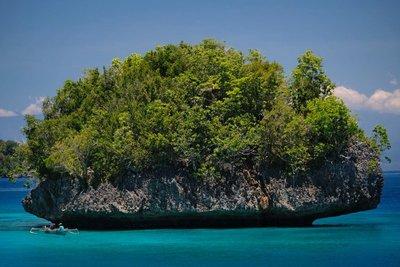 Fisherman, Togian islands