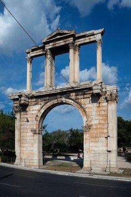 Hadrian's Gate, Athens