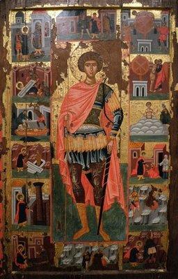 Icon of Saint George, Benaki Museum, Athens