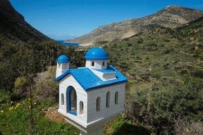 Kamares Bay, roadside altar, Sifnos