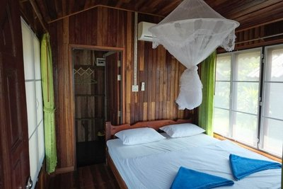 Interior bungalow, I-Lay House, Ko Kut, Thailand