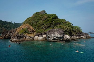 Snorkeling, Ko Rang National Park, Thailand