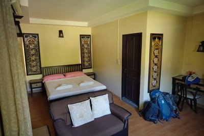 Room, Piya Guest House, Mae Hong Son, Thailand