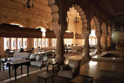 Living Room, Deeg Palace, Rajasthan
