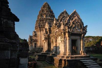 Khmer temple, Phimai, Thailand