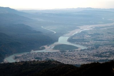 View of Rishikesh