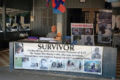 One of the survivors of Tuol Sleng