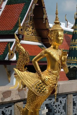 Wat Phra Kaeo, Temple of the Emerald Buddha, Bangkok, Thailand