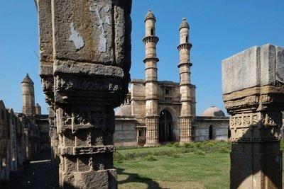 Jami Masjid (mosque), Champaner