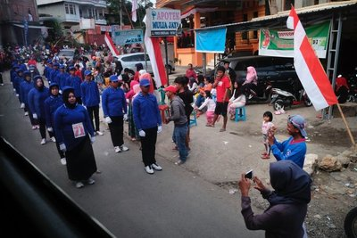 August 17th, Indonesian Independence Day celebration